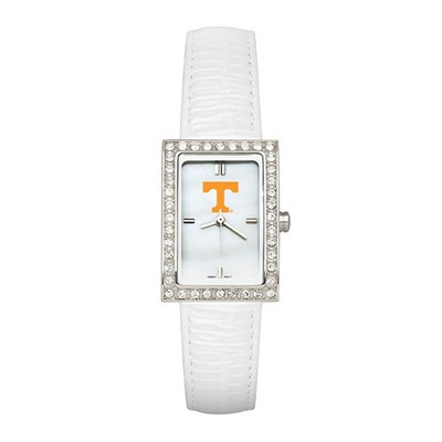 Tennessee Volunteers Women's Allure White Leather Strap Watch