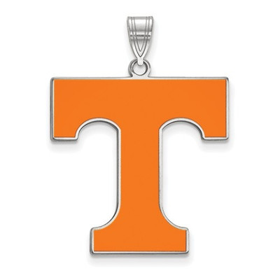 Tennessee Volunteers Orange Enamel Pendant