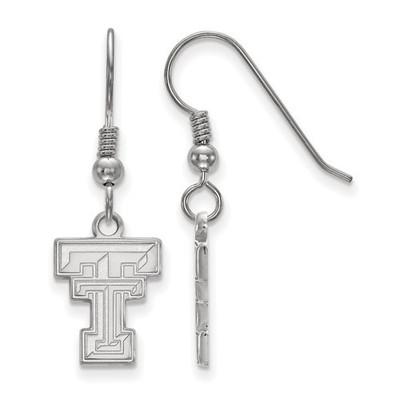 Texas Tech Red Raiders Silver Dangle Earrings
