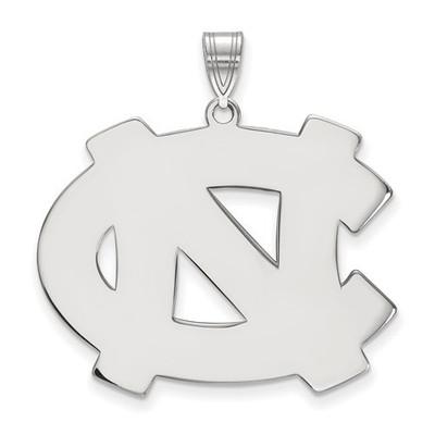 UNC Tar Heels Sterling Silver Pendant