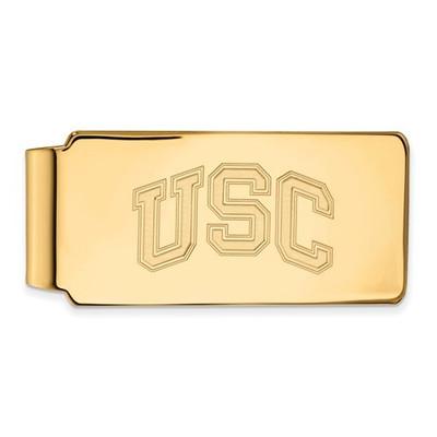 USC Trojans 14K Gold Money Clip