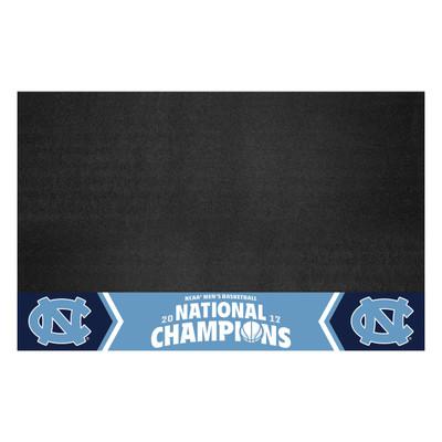 UNC Tar Heels National Champions Grill Mat