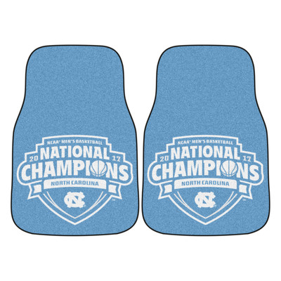 UNC Tar Heels National Champions Carpet Floor Mats