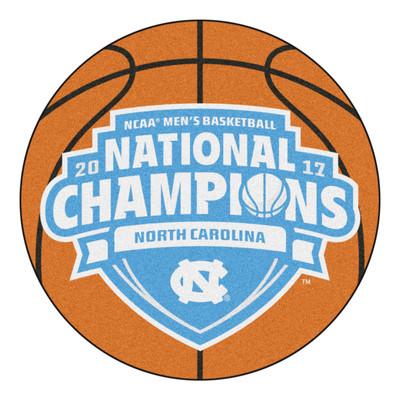UNC Tar Heels National Championship Basketball Mat Rug