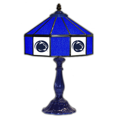 Penn State Nittany Lions 21 in Glass Table Lamp
