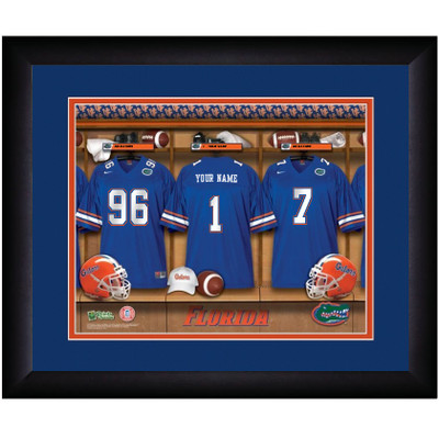 Florida Gators Personalized Locker Room Print