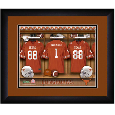 Texas Longhorns Locker Room Print | Get Letter Art | TEXLOCKER