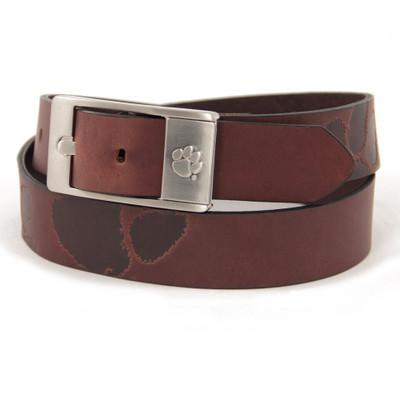 Clemson Tigers Brandish Brown Belt