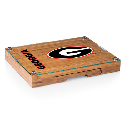 Georgia Bulldogs Concerto Bamboo Cutting Board