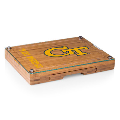 Georgia Tech Yellow Jackets Concerto Bamboo Cutting Board