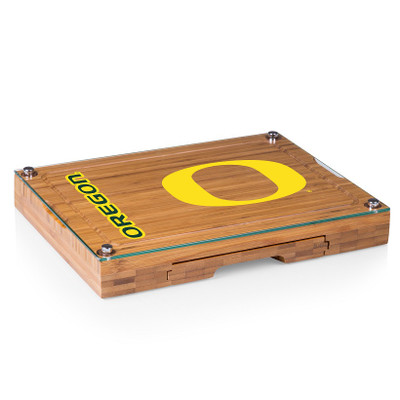 Oregon Ducks Concerto Bamboo Cutting Board