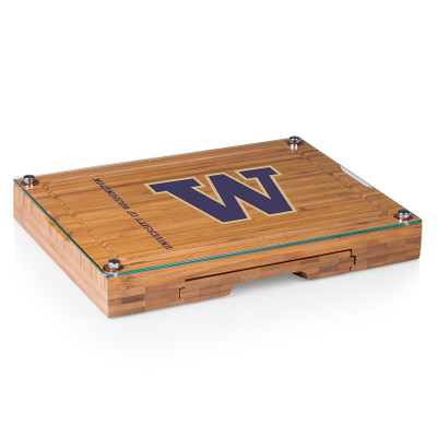 Washington Huskies Concerto Bamboo Cutting Board