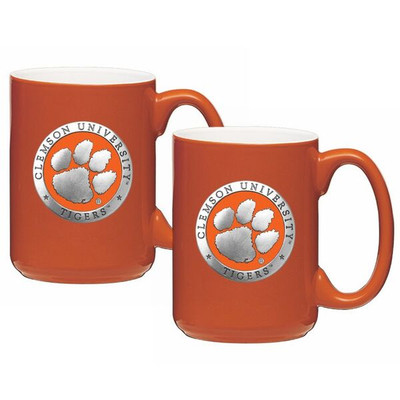 Clemson Tigers Coffee Mug Set of 2