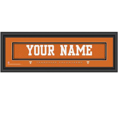 Tennessee Volunteers Personalized Jersey Stitch Print