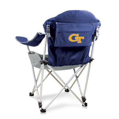 Georgia Tech Yellow Jackets Reclining Camp Chair