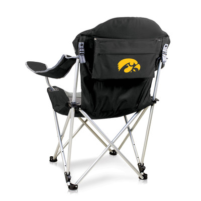 Iowa Hawkeyes Reclining Camp Chair