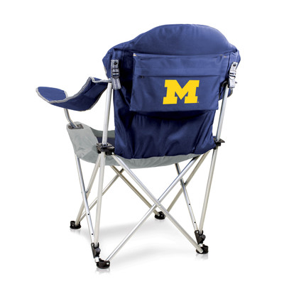Michigan Wolverines Reclining Camp Chair