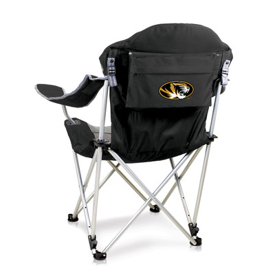 Missouri Tigers Reclining Camp Chair | Picnic Time | 803-00-175-394-0
