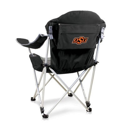 Oklahoma State Cowboys Reclining Camp Chair