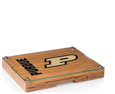 Purdue Boilermakers Concerto Bamboo Cutting Board