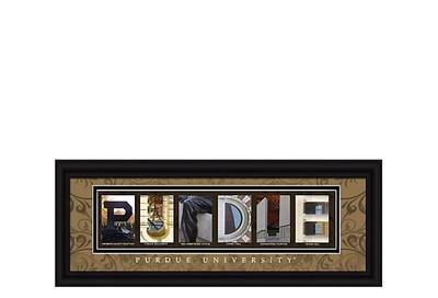 Purdue Boilermakers Campus Letter Art Print