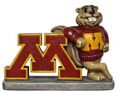 Minnesota Golden Gophers Mascot Garden Statue