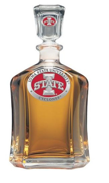 Iowa State Cyclones Capitol Decanter | Heritage Pewter | CPT10415ER