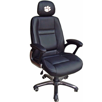 Clemson Tigers Leather Office Chair