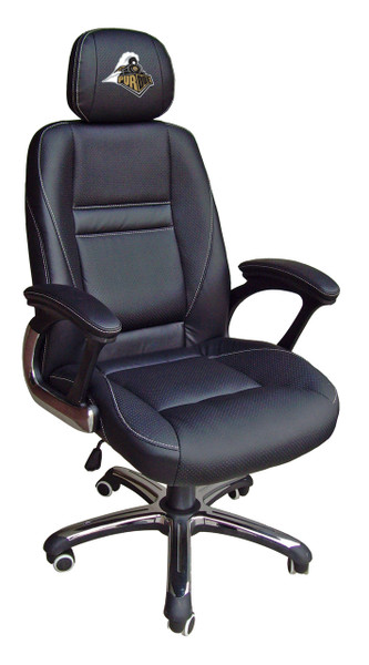 Purdue Boilermakers Leather Office Chair