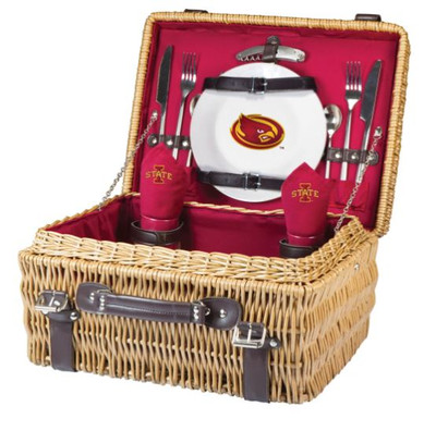Iowa State Cyclones  Champion Picnic Basket - Red