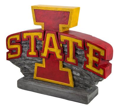 Iowa State Cyclones Mascot Garden Statue