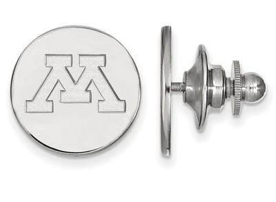 Minnesota Golden Gophers Logo Sterling Silver Lapel Pin