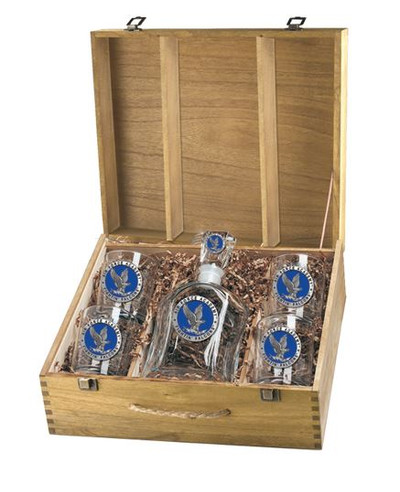 Air Force Academy Decanter Boxed Set