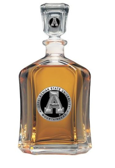 Appalachian State Mountaineers Capitol Decanter