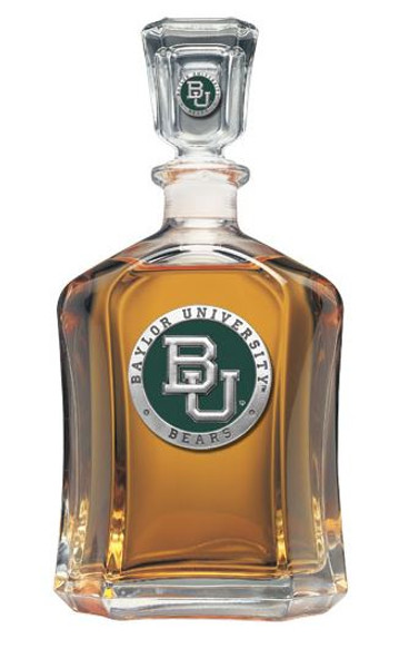 Baylor Bears Capitol Decanter