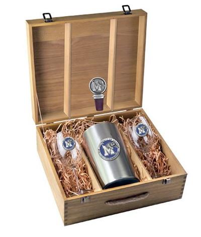 Memphis Tigers Wine Box Set