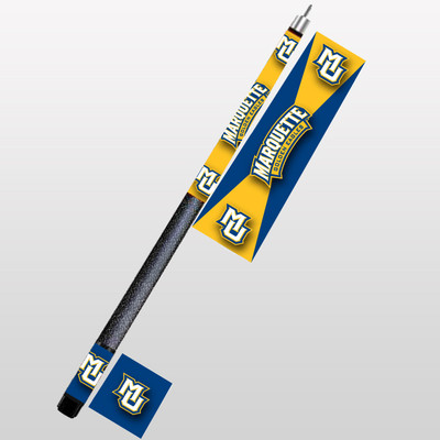 Marquette Golden Eagles Pool Cue