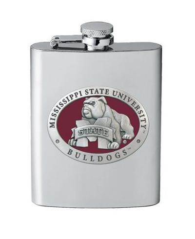 Mississippi State Bulldogs Flask - Bulldog