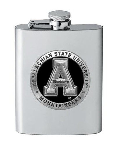 Appalachian State Mountaineers Flask