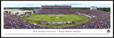 East Carolina Pirates Standard Frame Panoramic Photo