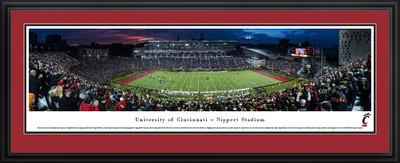 Cincinnati Bearcats Panoramic Photo Deluxe Matted Frame
