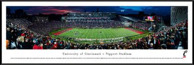 Cincinnati Bearcats Standard Frame Panoramic Photo
