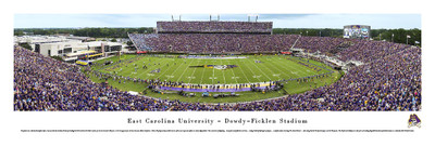 East Carolina Pirates Panoramic Photo Print