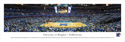 Memphis Tigers Panoramic Photo Print