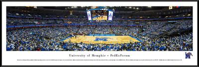 Memphis Tigers Standard Frame Panoramic Photo