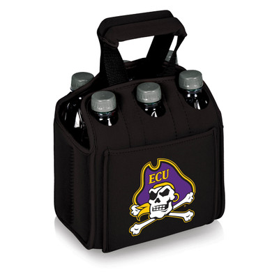East Carolina Pirates 6-Pack Cooler Caddy Tote
