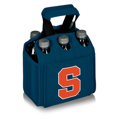 Syracuse Orange 6-Pack Cooler Caddy Tote - Blue