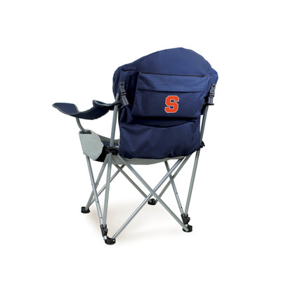 Syracuse Orange Reclining Camp Chair