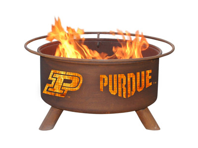 Purdue Boilermakers Portable Fire Pit Grill