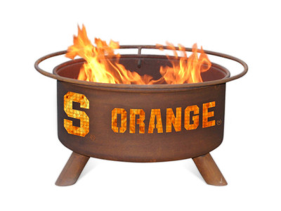Syracuse Orange Portable Fire Pit Grill